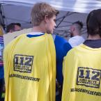 In diesem Jahr gab es wieder eine eigene FJR-Gruppe an der Spitze des Umzugs, dabei unter anderem auch die Jugendfeuerwehr Frankfurt. Foto: David Wedmann / FJR